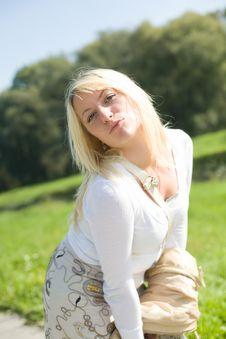 Free Blond Flirt Royalty Free Stock Photography - 3779297