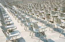 Free Rows Of Chairs Stock Photos - 3779603
