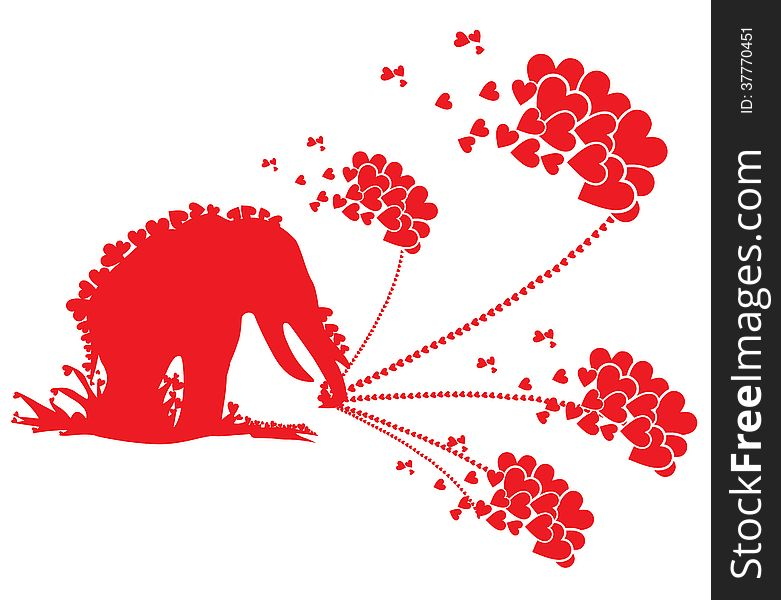 Red Showers of Love