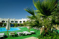 Free Hotel With Swimming Pool Stock Images - 3780604