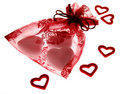 Free Bag With Hearts Stock Photo - 3784270