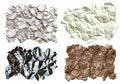 Free Crumpled Textures Royalty Free Stock Photos - 3786038
