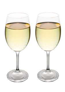Free Two Glasses Of White Wine Royalty Free Stock Photography - 3780337