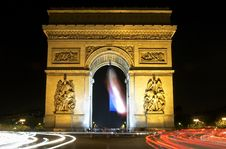Free Arch Of Triomphe Royalty Free Stock Images - 3781189