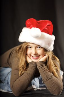 Free Little Christmas Sweetheart Royalty Free Stock Image - 3782786