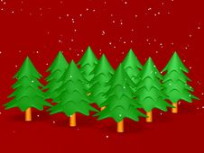 Free Christmas Tree Royalty Free Stock Photography - 3782857