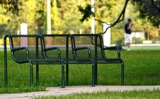 Free Park Bench Royalty Free Stock Image - 3783716
