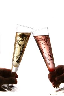 Free Pair Of Flutes Royalty Free Stock Photography - 3784147