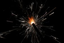 Free Sparkler Royalty Free Stock Image - 3784286