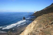 Free Tenerife Coast Stock Image - 3784391