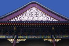 Free Chinese Building Detail Stock Photography - 3784592