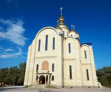Free Largest Ukrainian Church Royalty Free Stock Photo - 3785275