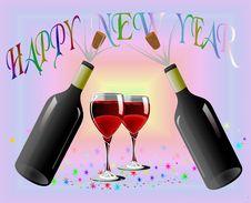 Free Celebration 2008 Stock Image - 3785491