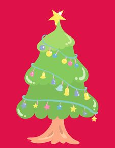 Free Christmas Tree Royalty Free Stock Images - 3785799