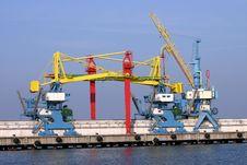 Free Docking Cranes Stock Photos - 3785913