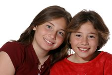 Free Two Young Sisters Stock Images - 3786464