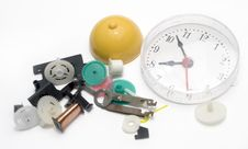 Clock, The Hour Of Their Death Stock Photography