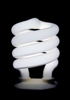 Free Compact Fluorescent Light Bulb Stock Images - 3788034