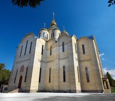 Free Largest Ukrainian Church Royalty Free Stock Photography - 3788037