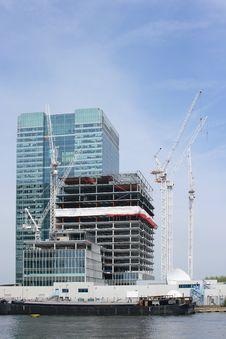 Free Riverside Building Construction Stock Photo - 3788170