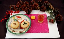 Free Mince Pie And Whisky. Stock Image - 3788311