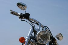 Free Chrome Motorbike Royalty Free Stock Photo - 3788335