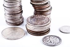 Free Coins. Stock Image - 3788351