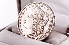 Free Coins. Stock Image - 3788451