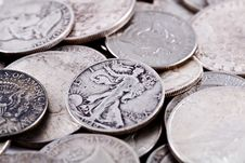 Free Coins. Stock Image - 3788461