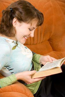 Free Girl Reading Book Stock Photo - 3788940