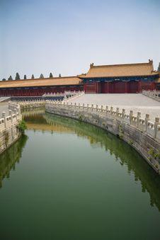 Forbidden City River Stock Photography