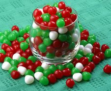 Free Christmas Candy Royalty Free Stock Images - 3789639