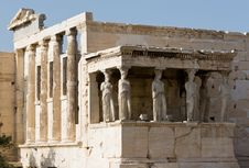 Free Acropolis, Porch Of Maidens Royalty Free Stock Images - 3789669