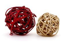 Free A Red And Tan Ball Of Sticks Stock Photos - 3789813