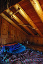 Free Mountain Cottage Bed Royalty Free Stock Image - 3795686