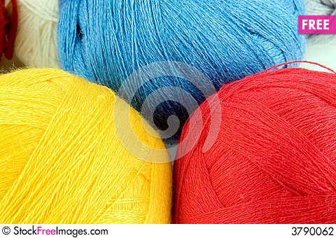 Free Yarn For Knitting Stock Photography - 3790062