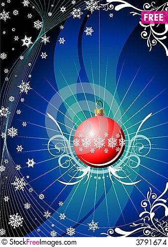 Free Red Glass Ball Stock Images - 3791674