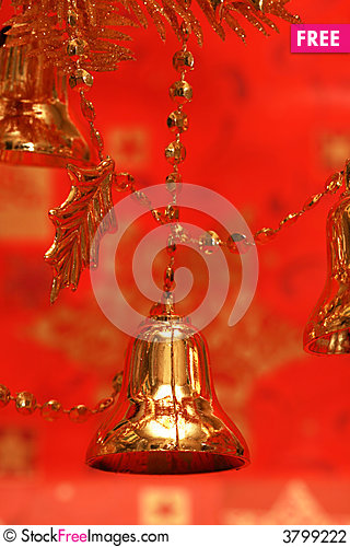 Free New-year Handbells Stock Photography - 3799222