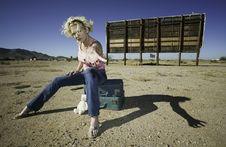 Free Woman Reaching Stock Photo - 3790270