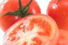 Free Tomatoes 1 Royalty Free Stock Photography - 3790517