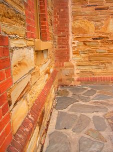 Free Willunga Sandstone Corner Royalty Free Stock Photography - 3791057