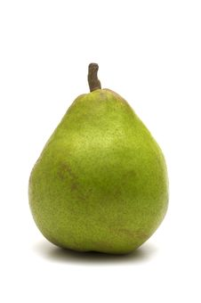 One Green Pear Royalty Free Stock Photos