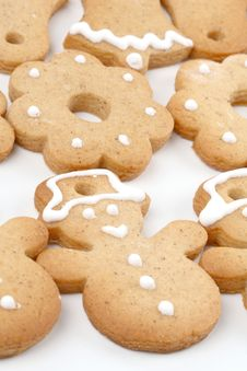 Free Gingerbread Cookies Royalty Free Stock Image - 3791616