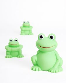 Free Rubber Frog Stock Photo - 3791670
