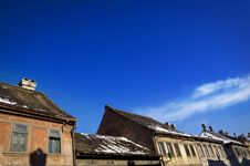 Free Old City Roofs Royalty Free Stock Photos - 3792068