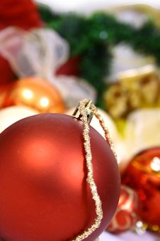 Free Christmas Balls Stock Photos - 3792413