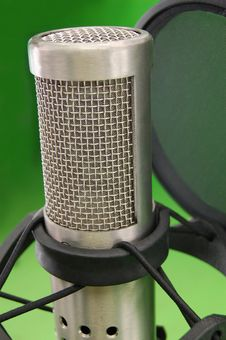 Free Microphone 3 Royalty Free Stock Image - 3792416