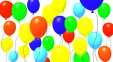 Free Baloons Front Stock Photos - 3792473