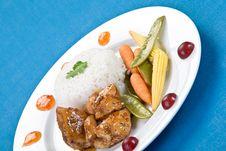Free Tai Sticky Chicken Royalty Free Stock Photos - 3792568
