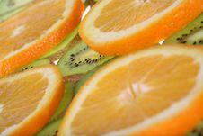 Free Orange And Kiwi Stock Photography - 3792622